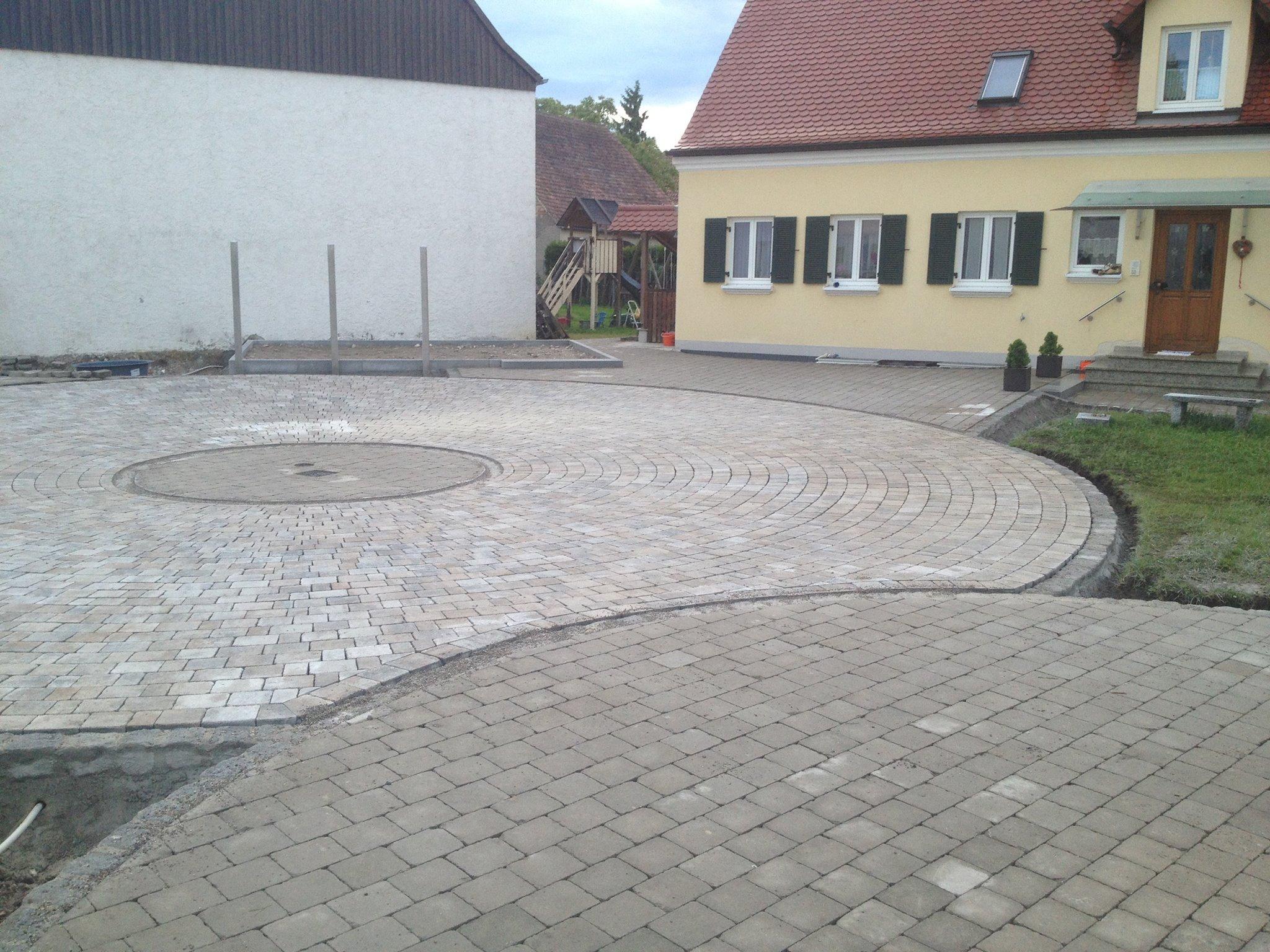 kreis-pflaster 300 m² | cocoon gartenkonzepte